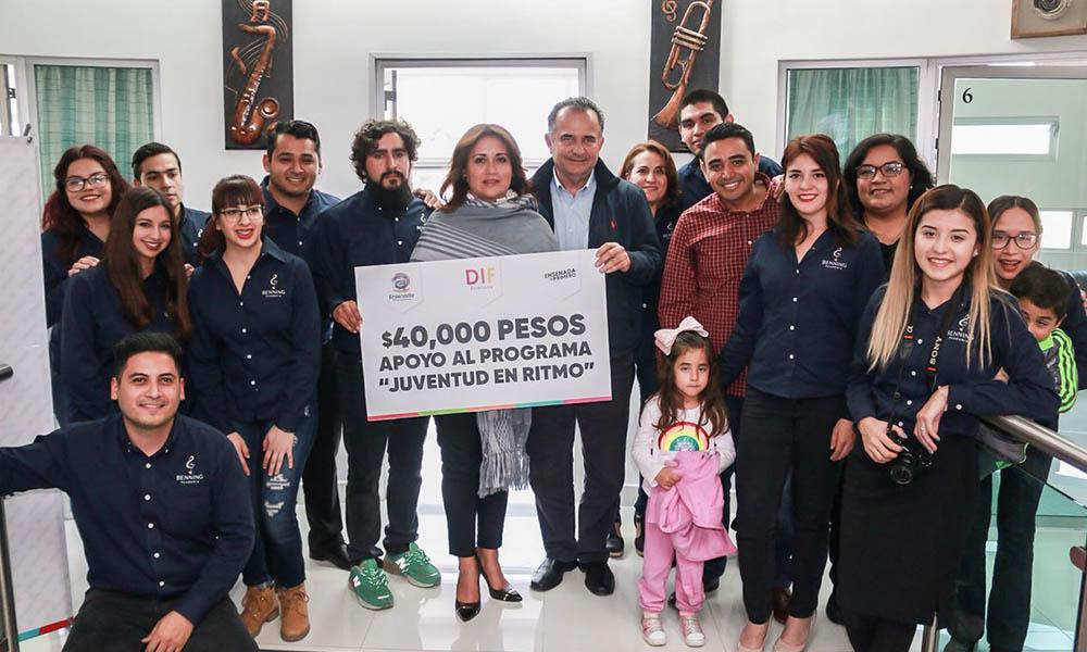 """Apoyan proyecto """"Juventud en Ritmo"""" en Ensenada"""