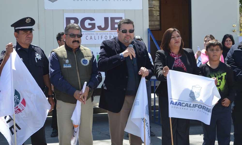 Arranca Operativo de Seguridad Semana Santa y Caseta Móvil de Policía en Tecate.