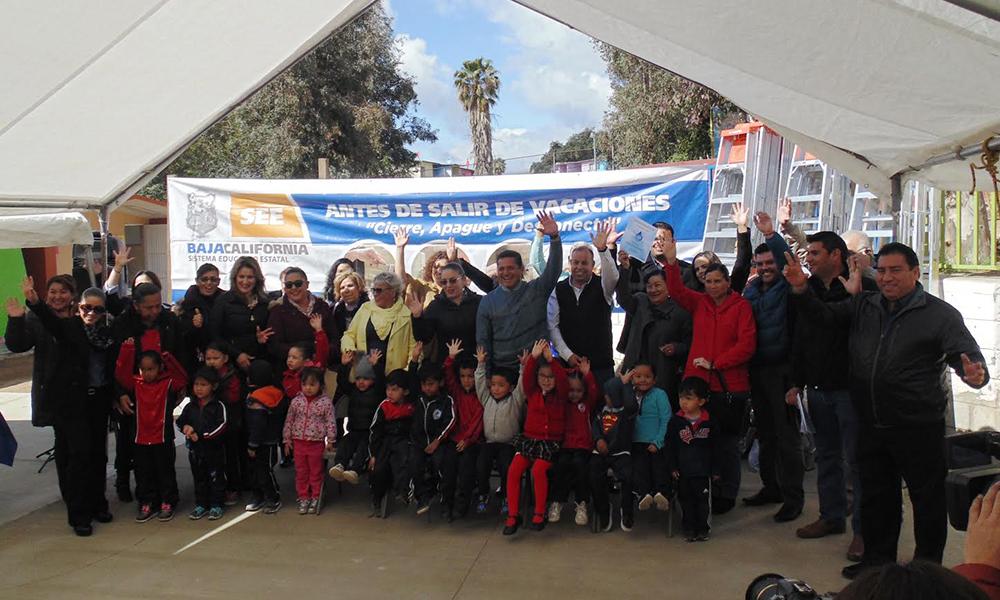 Arranca del Programa Antes de salir de vacaciones…¡Cierra, Apaga y Desconecta! en Tecate