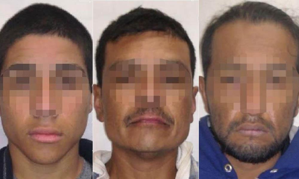 Arrestan a 3 sujetos con un arma de fuego