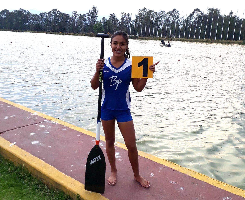 Joven de Baja California clasifica en canotaje en Juegos Centroamericanos en Colombia