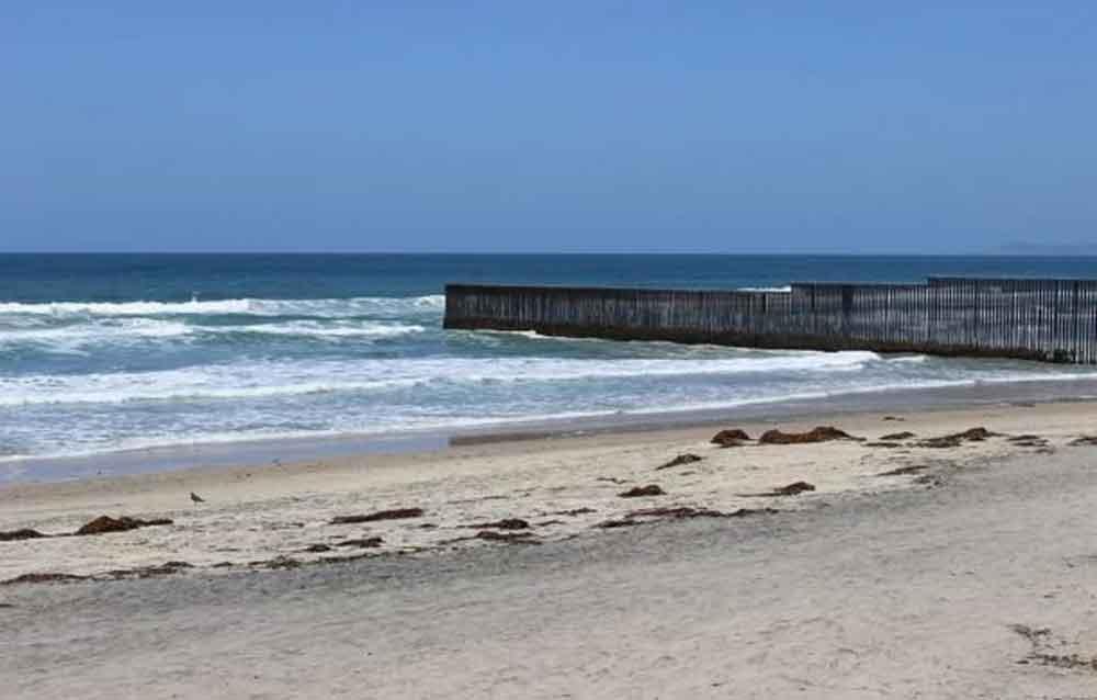 Cierran playas de San Diego tras contaminación de aguas residuales cierra las playas de IB a Coronado