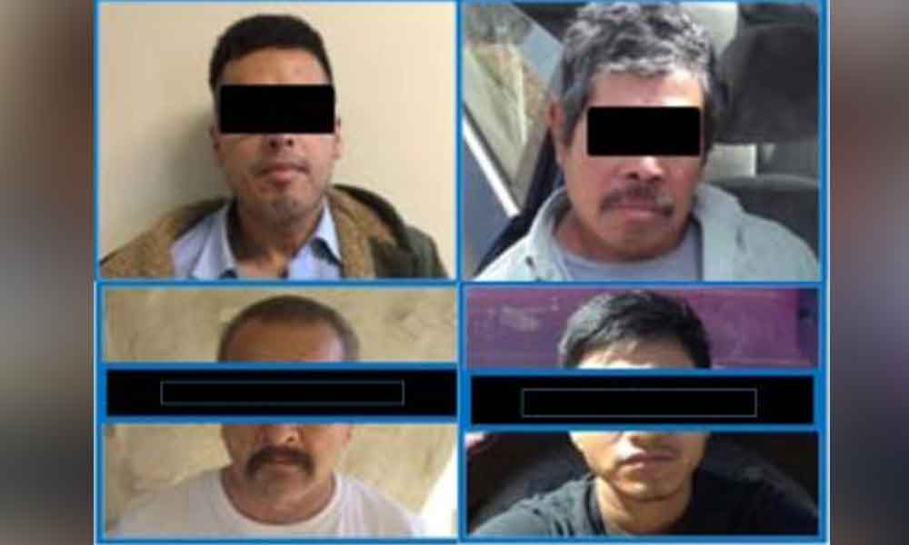 Detienen en Tecate a 4 sujetos por diversos delitos