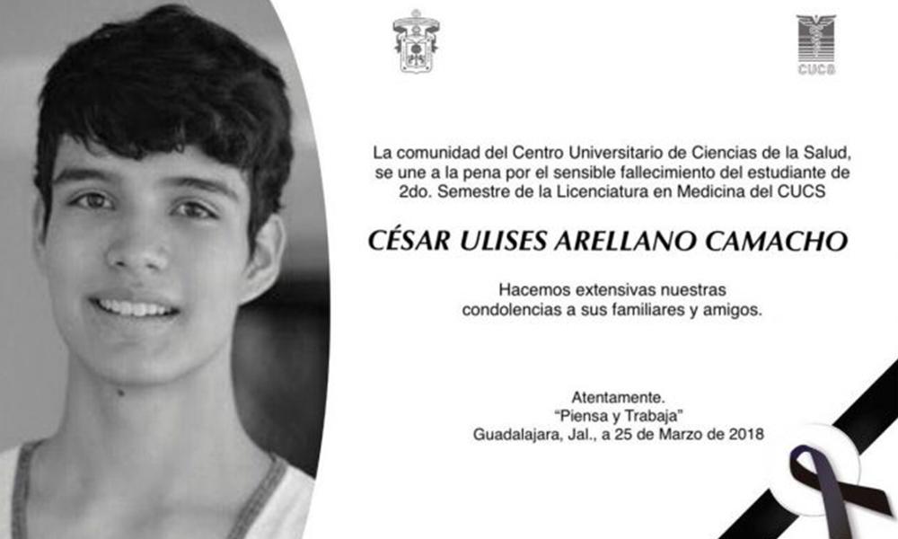 Encuentran sin vida a estudiante desaparecido en Jalisco