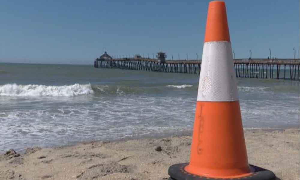 Extienden alerta en San Diego por contaminación en playas de Tijuana