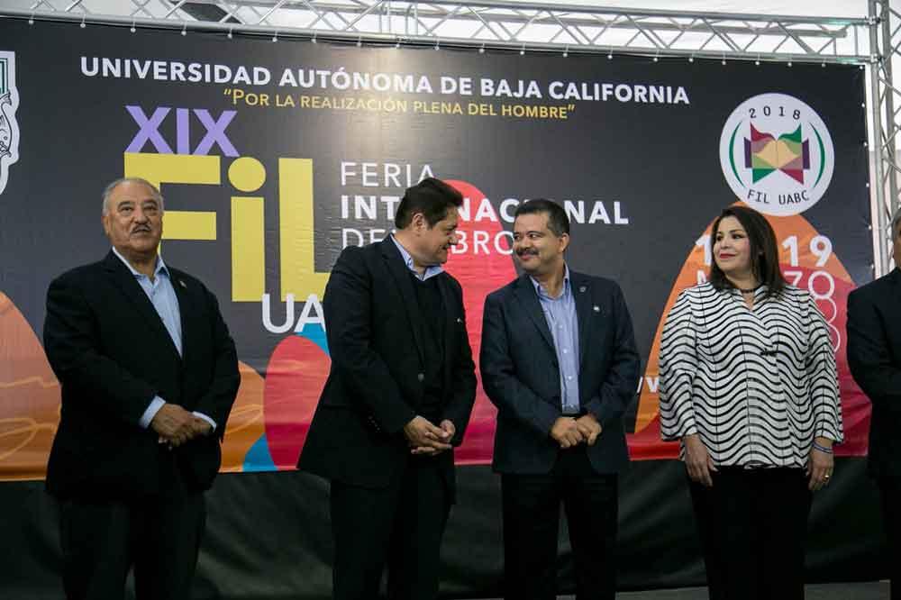Inauguran Feria Internacional del Libro UABC Mexicali