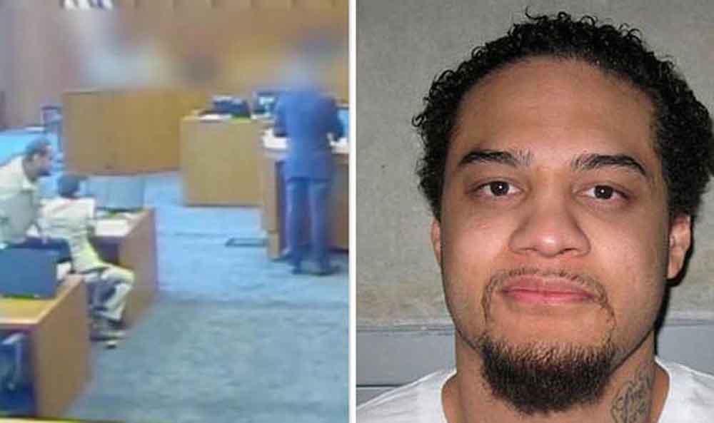 Intentó matar a testigo con un bolígrafo en EU