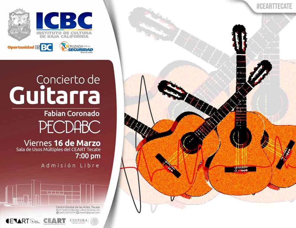 CEART te invita al recital de Guitarras
