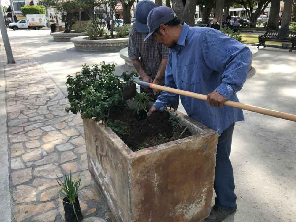 Obras Públicas sigue con embellecimiento del Pueblo Mágico