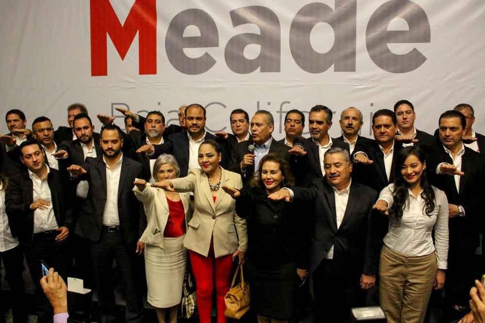 Presentan equipo de campaña de José Antonio Meade en Baja California