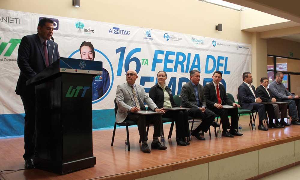 Realizan la Décimo Sexta Feria del Empleo de la Universidad Tecnológica de Tijuana
