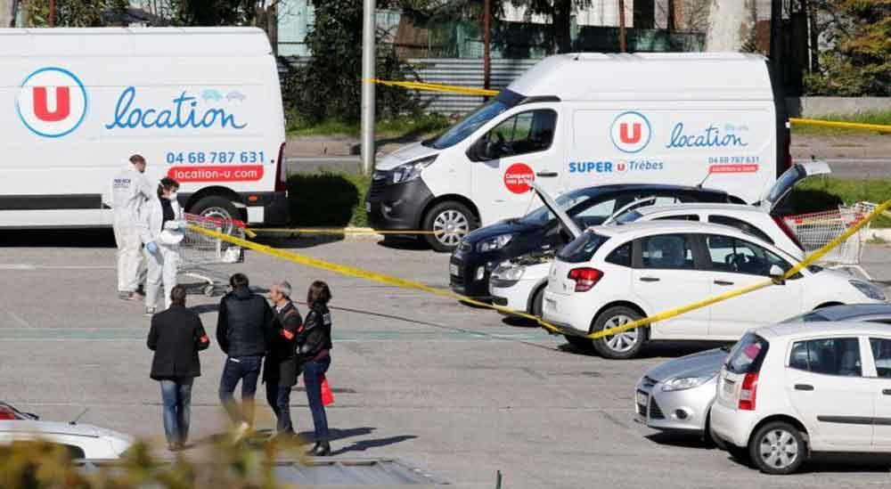 Toma de rehenes en supermercado de Francia deja al menos 4 muertos