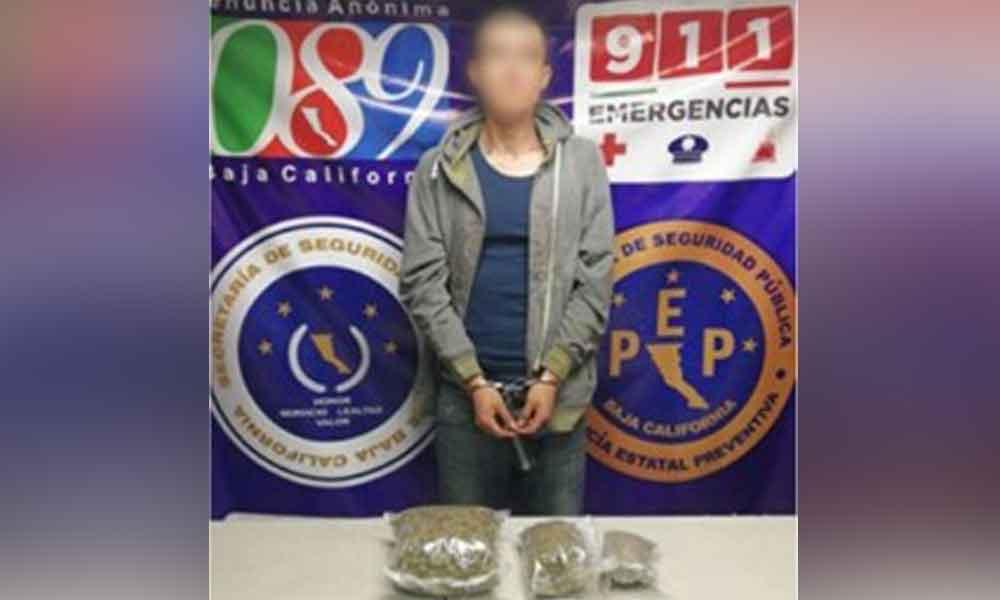 Vendía marihuana por facebook; lo capturan en Ensenada