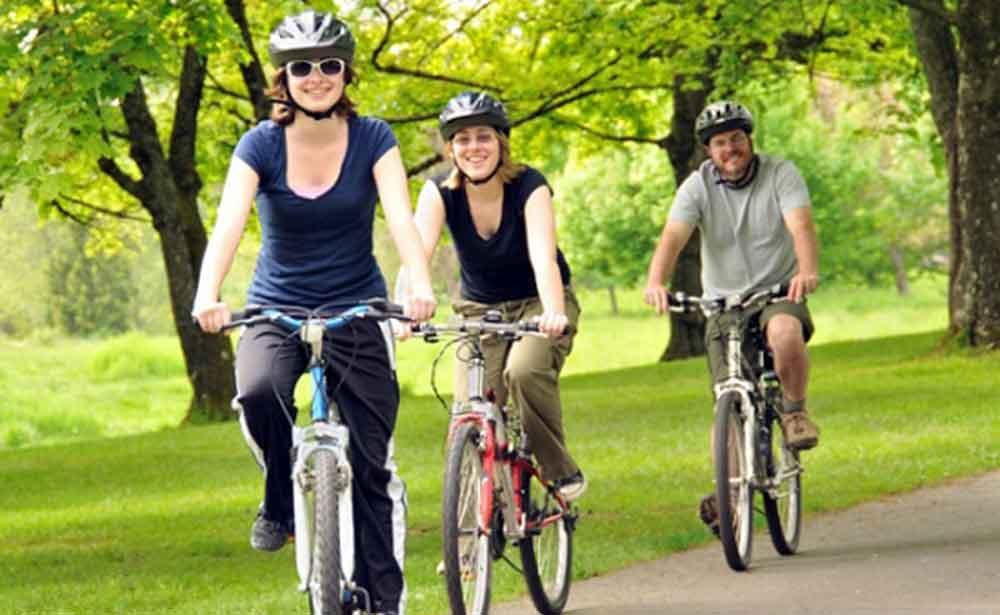 Andar en bicicleta retrasa el envejecimiento
