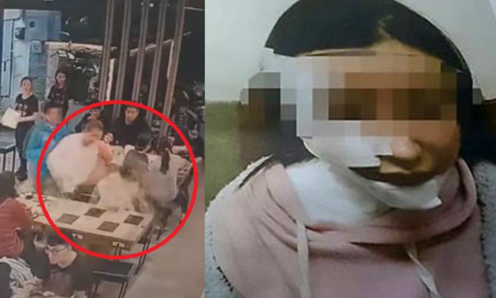 Como venganza hombre arroja sopa hirviendo a mujer en el rostro (VIDEO)