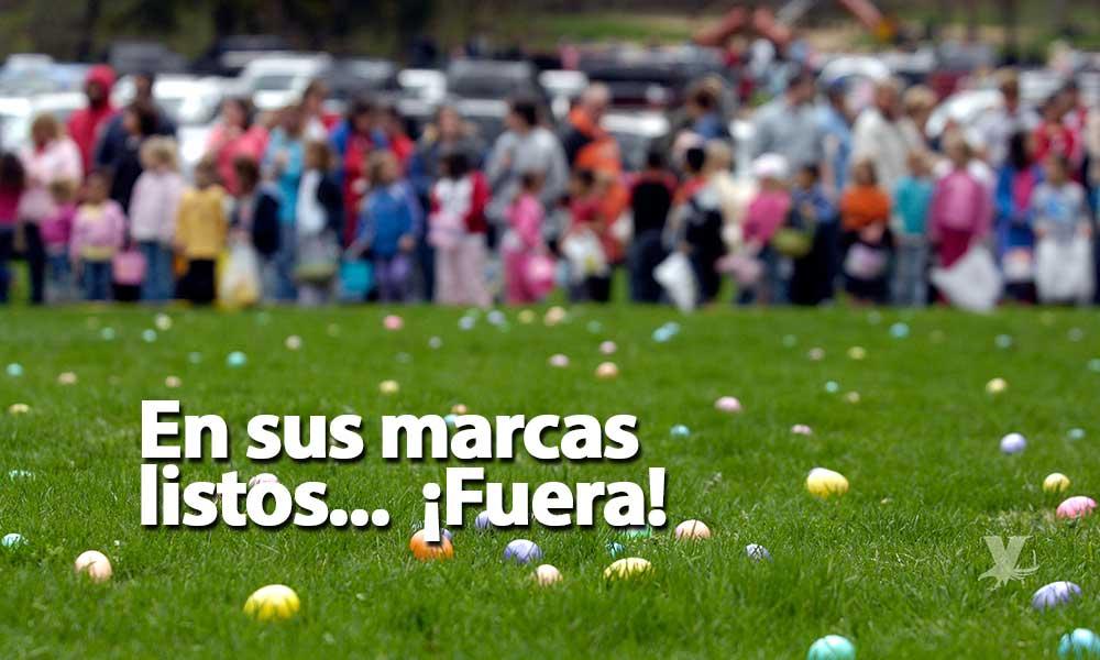 Invitan a buscar huevos de pascua para niños en El Trompo, !Checa los horarios!