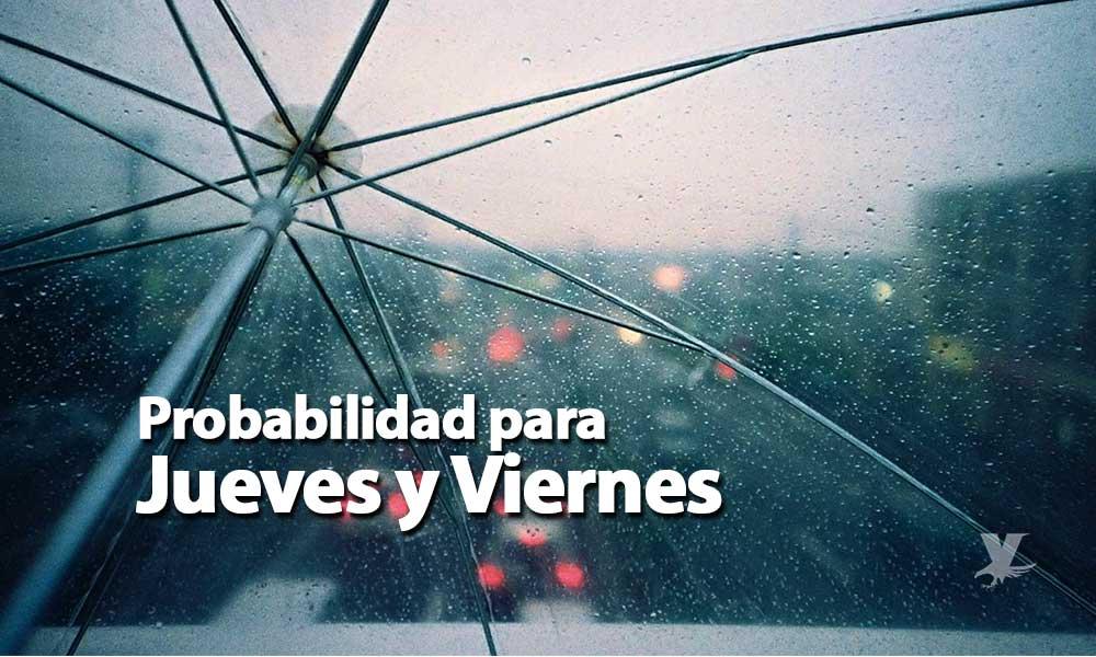 Lluvias de moderadas a fuertes para Baja California