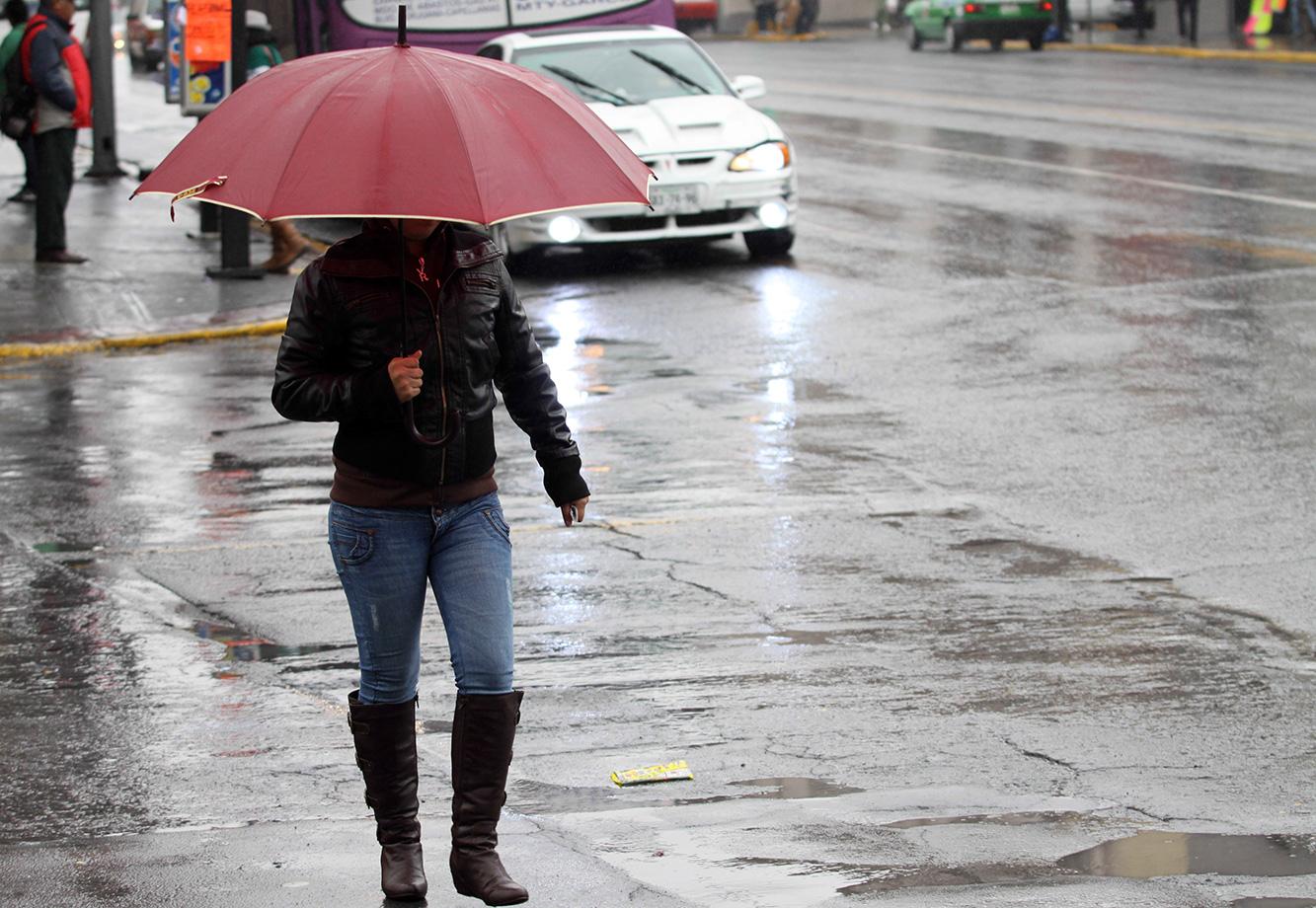 Frente frío traerá chubascos y bajas temperaturas durante este miércoles a la región
