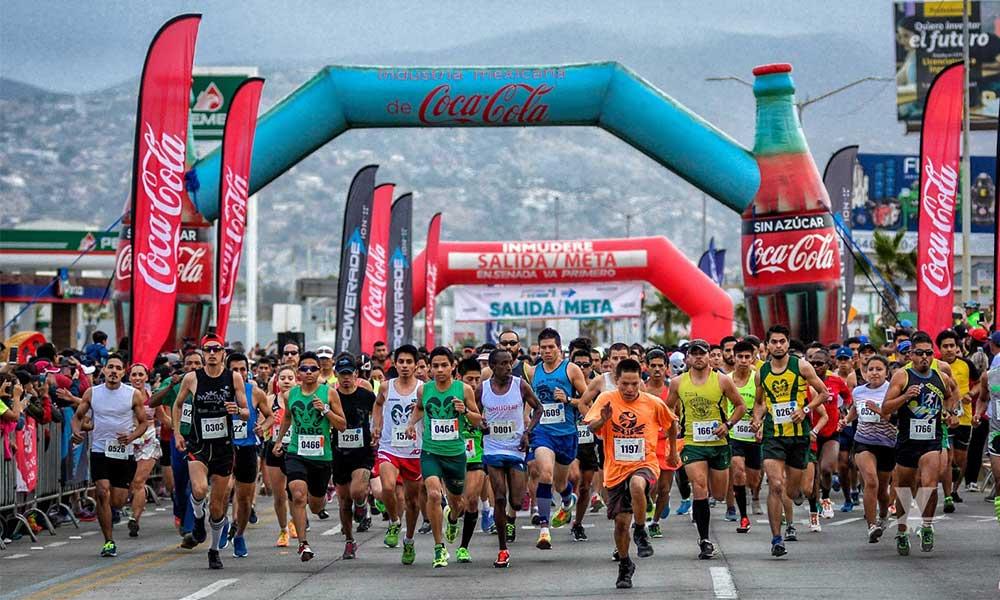 Anuncian el Medio Maratón de Ensenada