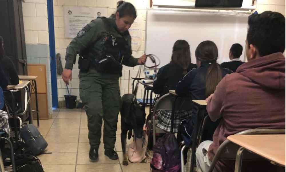 "Realiza operativo ""Mochila Segura"" SSPM Tijuana"