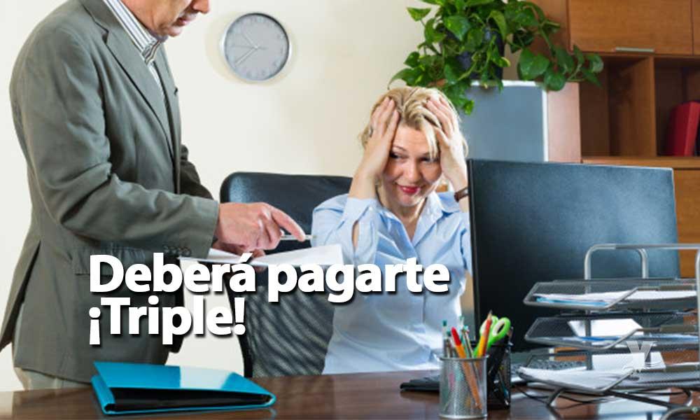 Si trabajas el próximo lunes festivo, deberán pagarte ¡Triple!