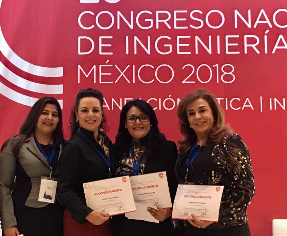 Participa CESPTE en Congreso Nacional de Ingeniería Civil