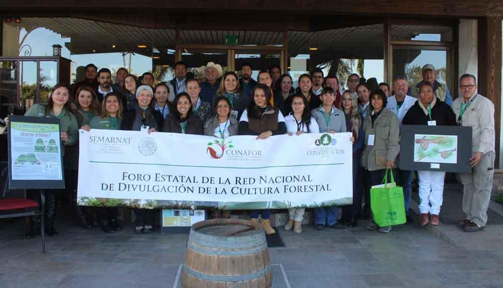 Participaron 50 divulgadores forestales en Foro Estatal