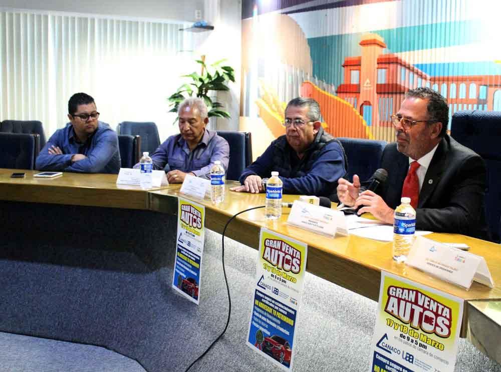Realiza Canaco bazar de autos usados en Tijuana 2018