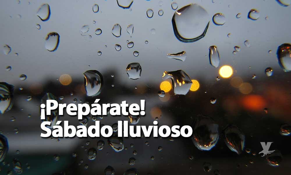 Sábado lluvioso para Baja California: Protección Civil