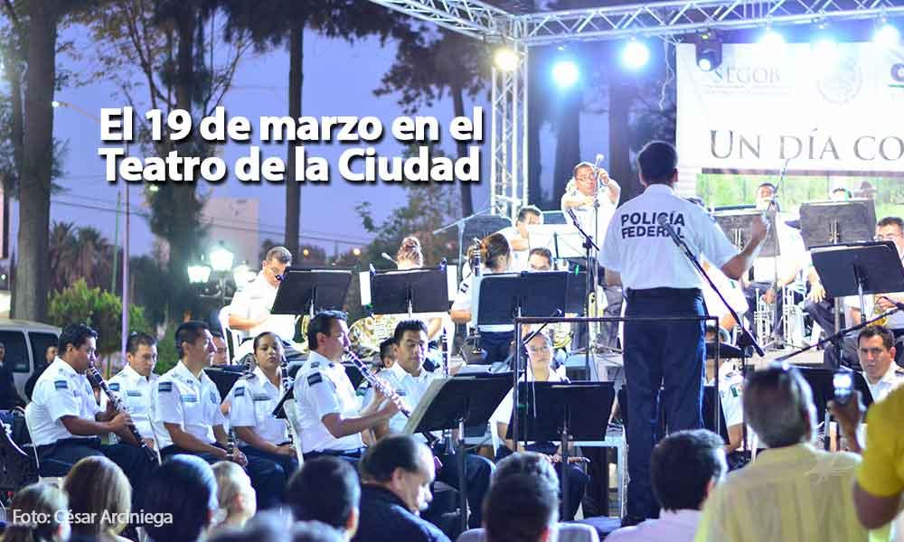 Anuncian presentación de la Orquesta y Mariachi de la Policía Federal en Tecate