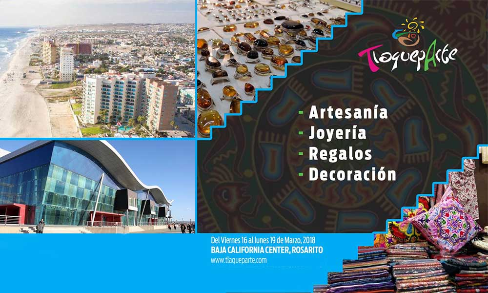 Expondrán artesanos en Baja Center, en el evento TlaquepArte.