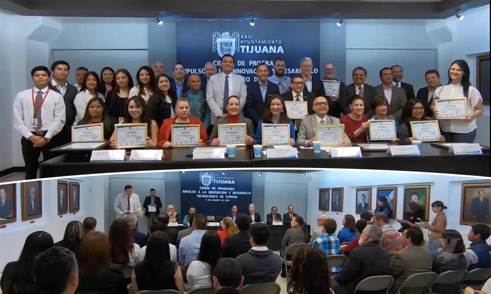 """Realizan cierre del Programa """"Impulso a la Innovación y Desarrollo Tecnológico de Tijuana"""""""