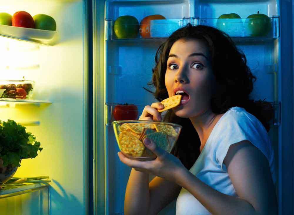 Alimentos para comer por la noche y no engordar