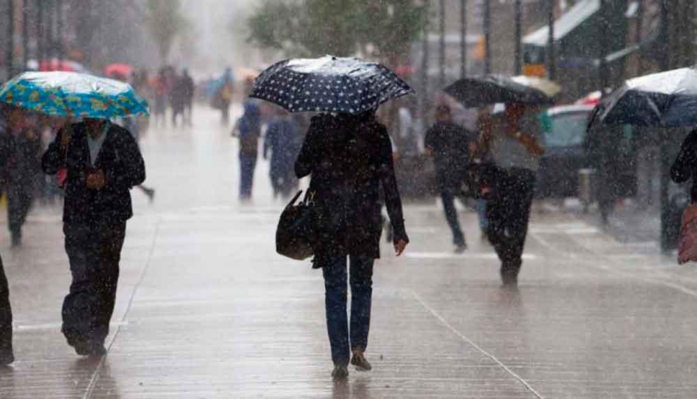 Lluvias llegarán el miércoles a la región: Protección Civil