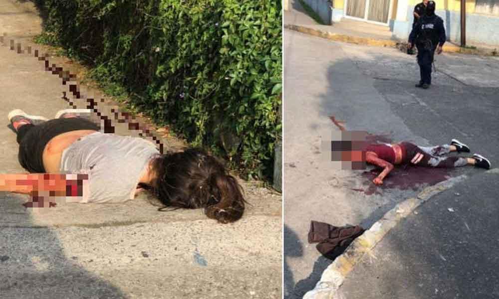 Tenían 14 y 16 años e iban al cine; mueren baleadas por policías