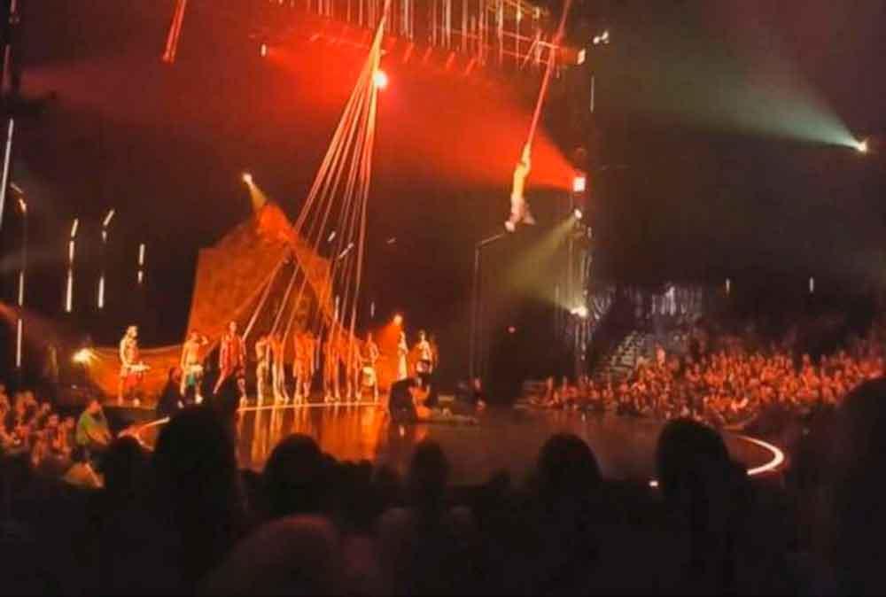 Muere acróbata del Cirque du Soleil al caer durante actuación en Florida
