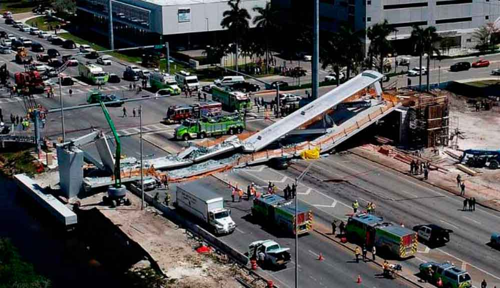 Ellos son las seis víctimas del puente colapsado en Florida