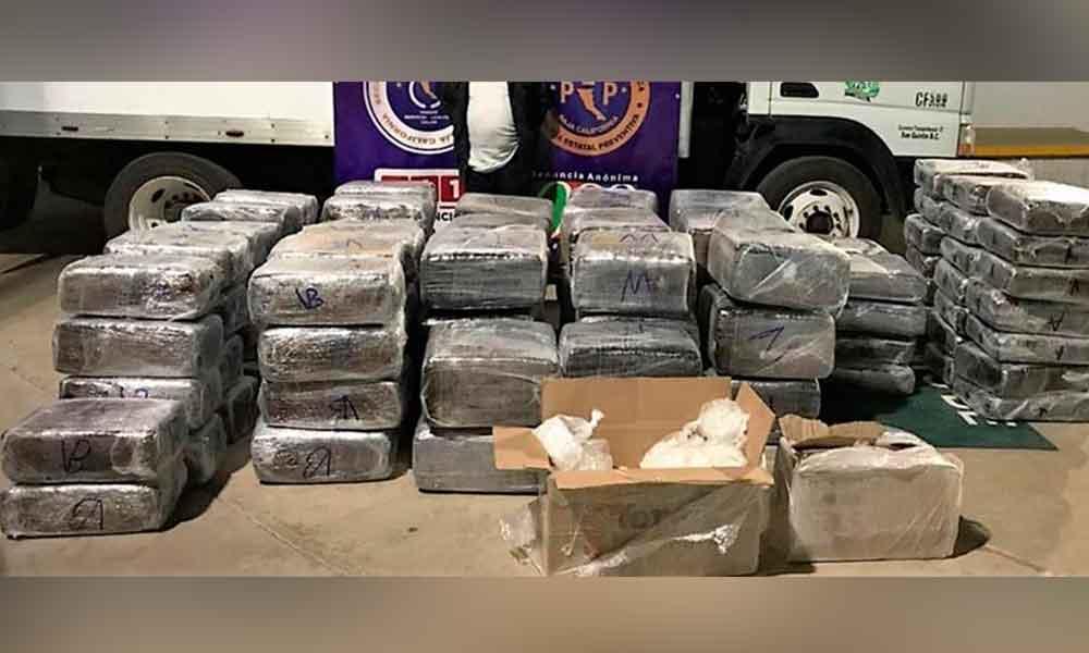 """Transportaba 801 kilos de marihuana y más de 36 kilos de """"ICE"""""""