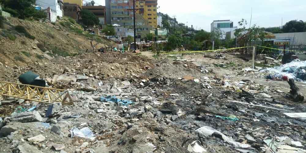 Realizan acciones para erradicar basureros clandestinos en Tijuana
