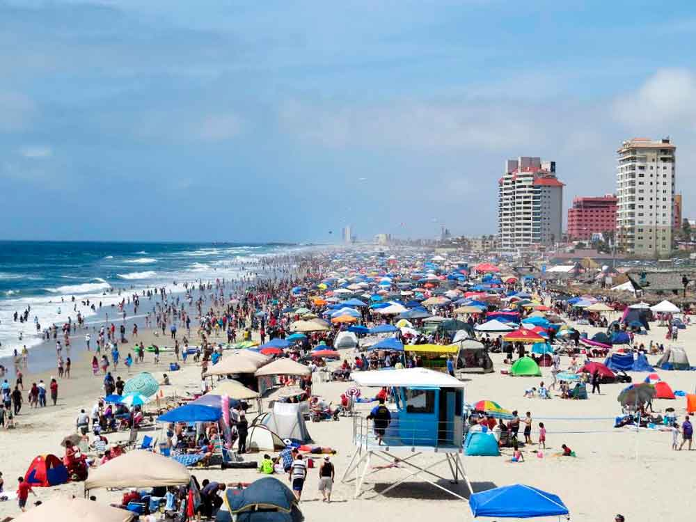 Registra Playas de Rosarito más de 10 mil turistas por Spring Brake