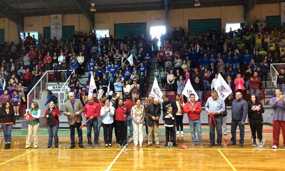 Modernizan el gimnasio municipal Gustavo Díaz Ordaz en Tecate