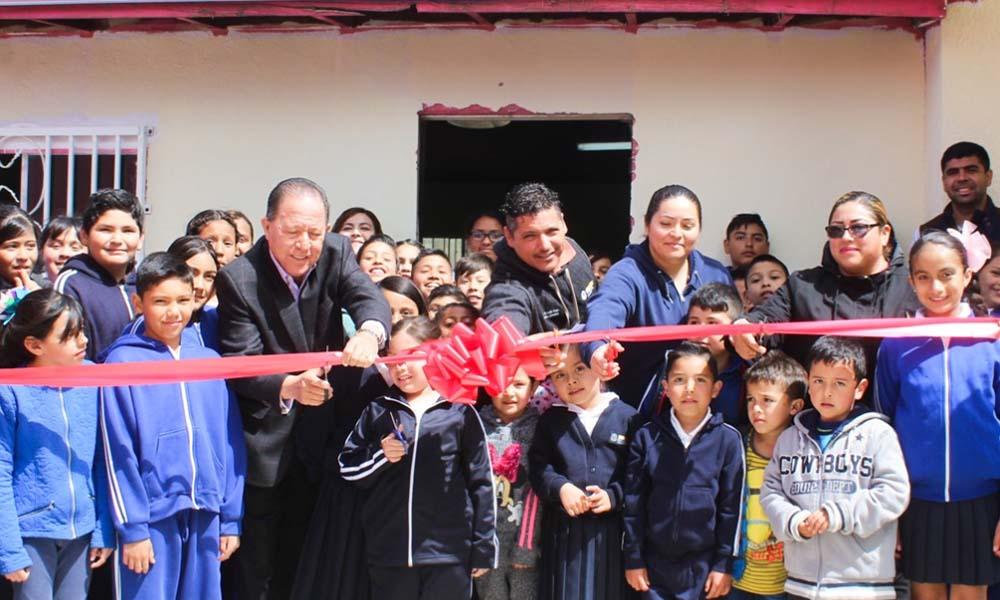 Abren en Tecate nuevo Desayunador en escuela rural