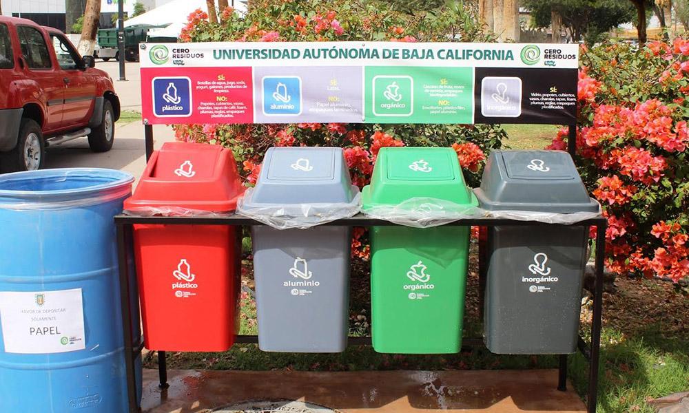 """Arranca el programa """" Cero Residuos"""" UABC Ensenada"""