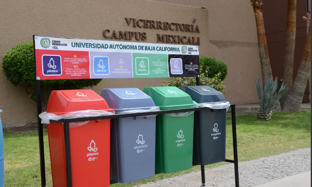 Arranca UABC Programa Cero Residuos en Campus Mexicali