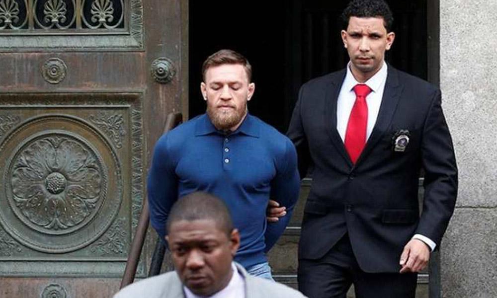 Arrestan a McGregor tras riña; enfrenta varios cargos (VIDEO)