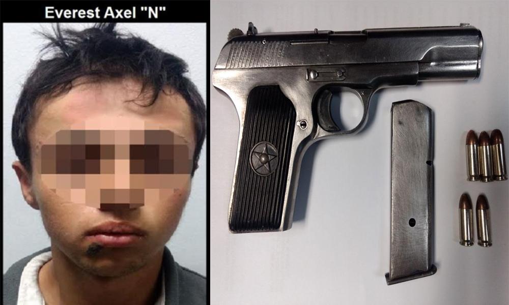 Arrestan a hombre armado en Tijuana