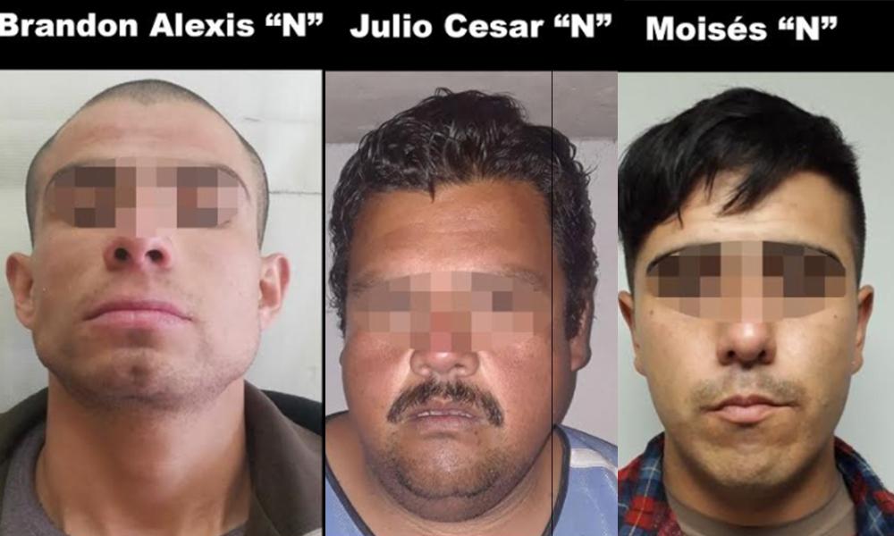 Arrestan a tres narcomenudistas en Tijuana