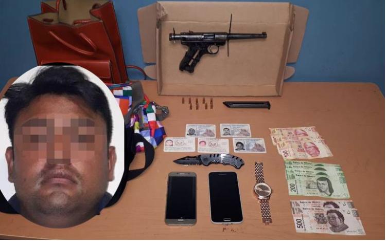 Capturan a presunto asaltante de restaurante en Tijuana