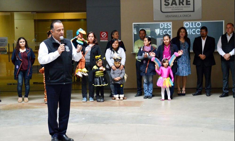 Celebran el Día del Niño con ceremonia cívica en Ensenada