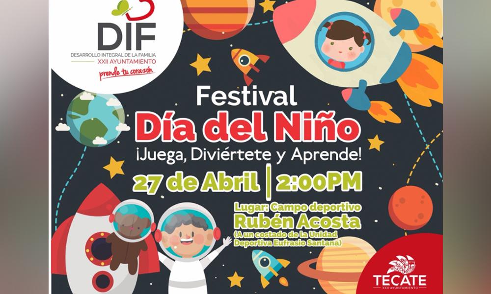 Celebrarán el Día del Niño con módulos, juegos y actividades didácticas sobre el espacio